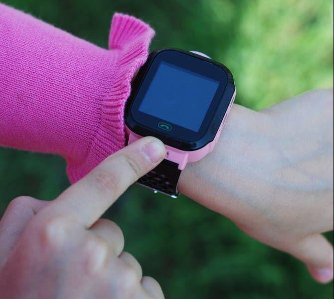 Elektroniczny zegarek dla dziecka z GPS