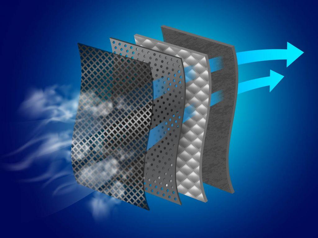 filtr w oczyszczaczu powietrza