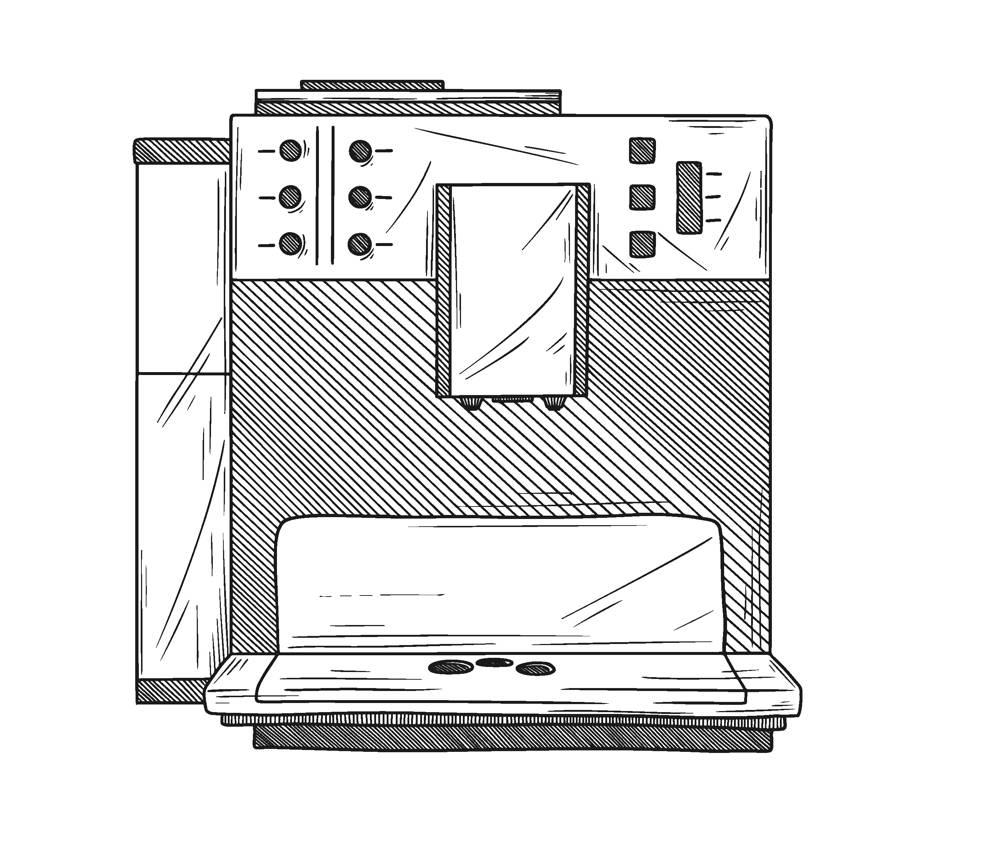 Automatyczny ekspres do kawy do 2000