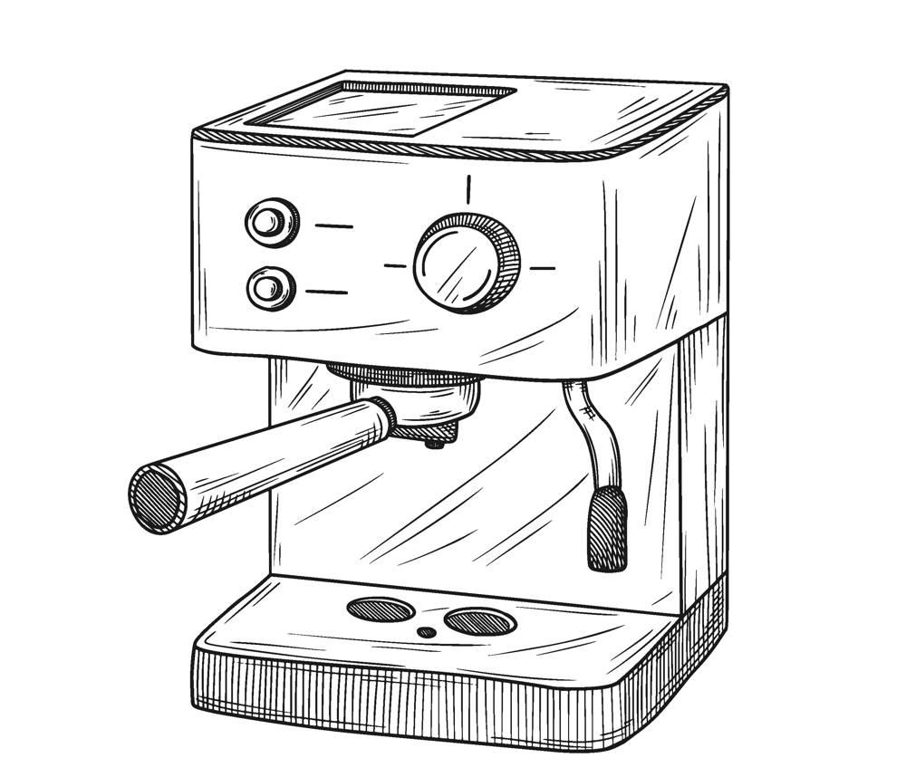Kolbowy ekspres do kawy za 2000