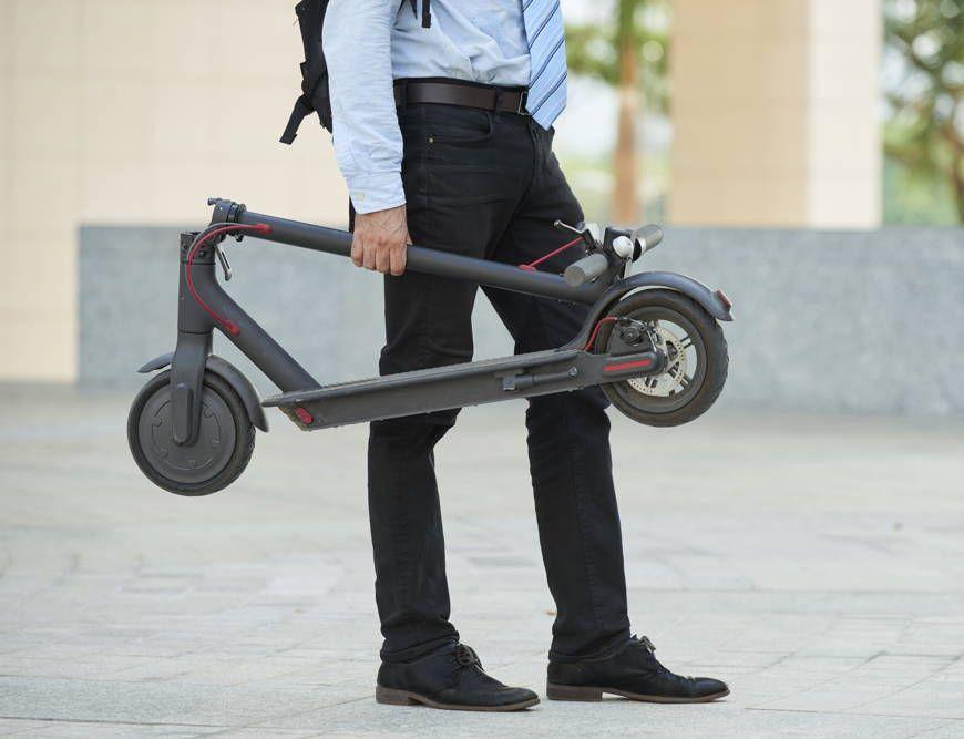 Hulajnoga elektryczna dla dorosłych do pracy