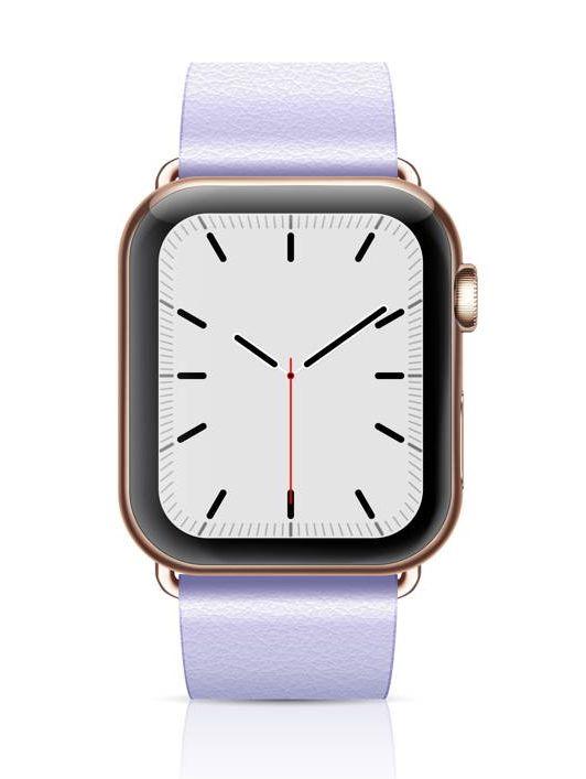 reitinguojantis elegantiškas moteriškas išmanusis laikrodis su auksiniu dėklu