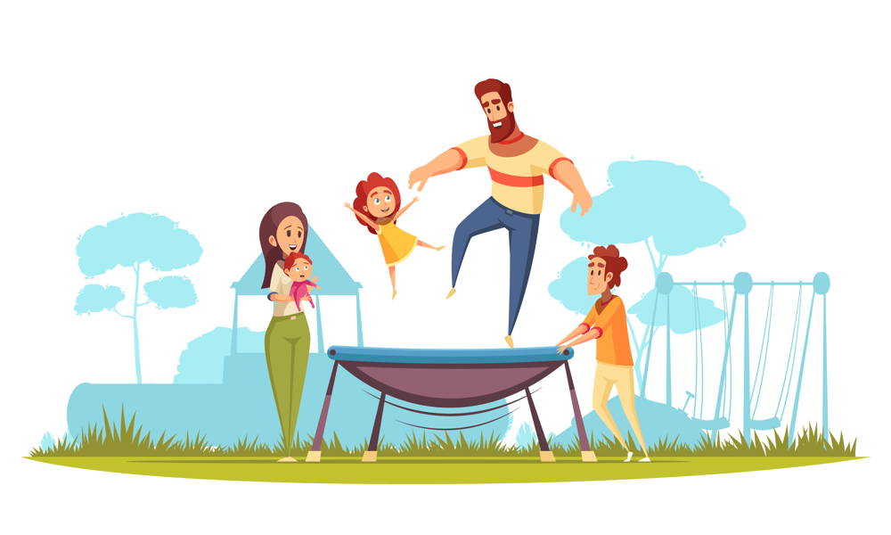 Najlepsza trampolina do ogrodu